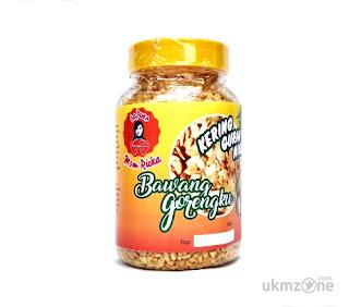 Bawang putih goreng granule produk Dapoer Mom Ricka - UKM ZONE