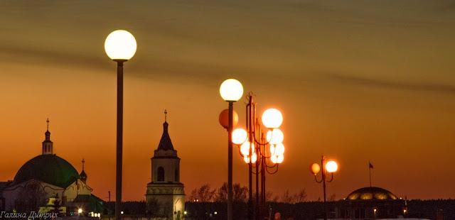 Чебоксары фонари на заливе