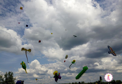 International Kite Festival Tryhutty 2018 Ukraine