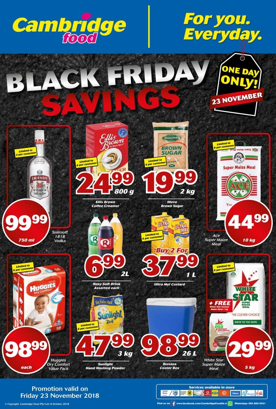 Cambridge Foods Black Friday Specials Amp Deals 2018 Prices