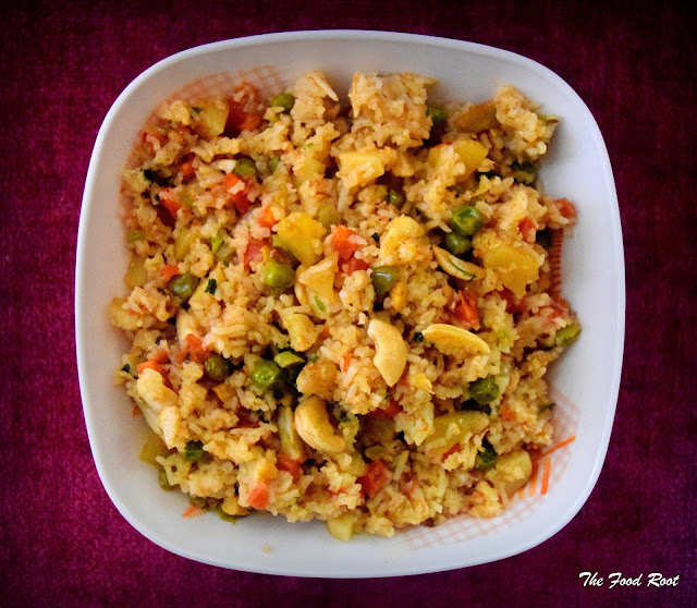 how to make vegetable fried-rice