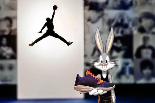 7bfe2fab3be Michael Jordan y Bugs Bunny vuelve a unirse para promocionar unas  zapas   (Vídeo)