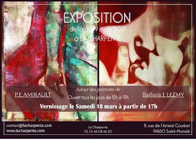 Expo Barbara et Philippe à la CHARPENTE