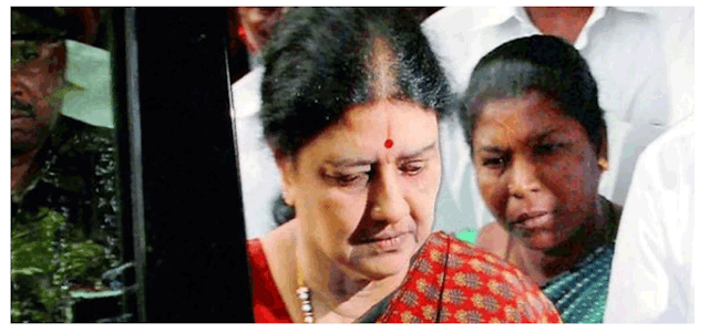 Supreme Court rejects Sasikala's plea