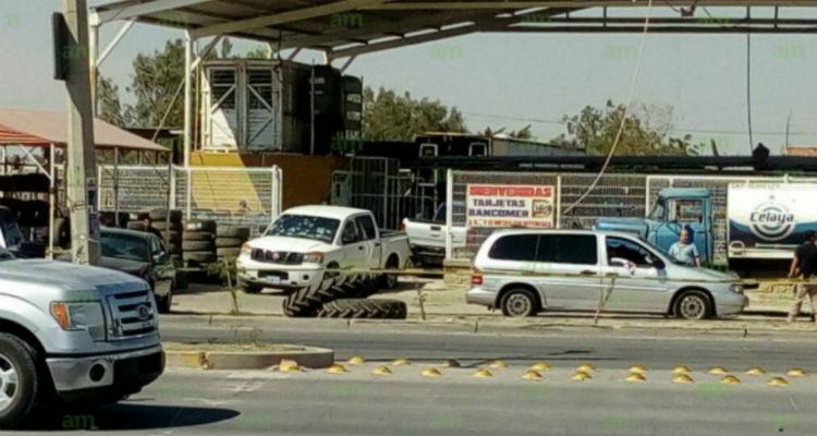 Comando armado rafaguea  a Policías Ministeriales en Celaya; hay tres civiles heridos
