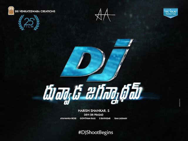 Stylish Star alluarjun, Dil Raju, Harish Shankar is coming in combination with the new film `dije ... duvvada jagannatham  Resugurram, sannaph Sathyamoorthy, sarainodu a series of blockbuster films, such as hitting a hat-trick of hits alluarjun stylish star of the hit movie Gabbar Singh served as Director of Industry and directed by Harish sankares hit film Dil Raju on Sri Venkateswara Creations banner, the producer of the new film `dije .. rupondanundi duvvada jagannatham film. Arya, running after the super hit films dupar alluarjun doing the third film on Sri Venkateswara Creations banner. In addition, the Sri Venkateswara Creations banner rupondanunna 25th film was the same thing.   Bunny Arya, Arya 2, sannaph designe, including rogue, ... Arya on Sri Venkateswara Creations banner, Bommarillu super hit films such as Rock Star Devi Sri Prasad has composed the music for this film and the music. Alluarjun, Dil Raju, Harish Shankar, Devi Sri Prasad .... duvvada jagannatham dije rupondanunna with a combination of the blockbuster movie tomorrow (August 29), Hyderabad hadarabad philinnagar divine Sannidhanam 7 am to 15 minutes to begin formally. Many Bollywood celebrities are going to attend this event.
