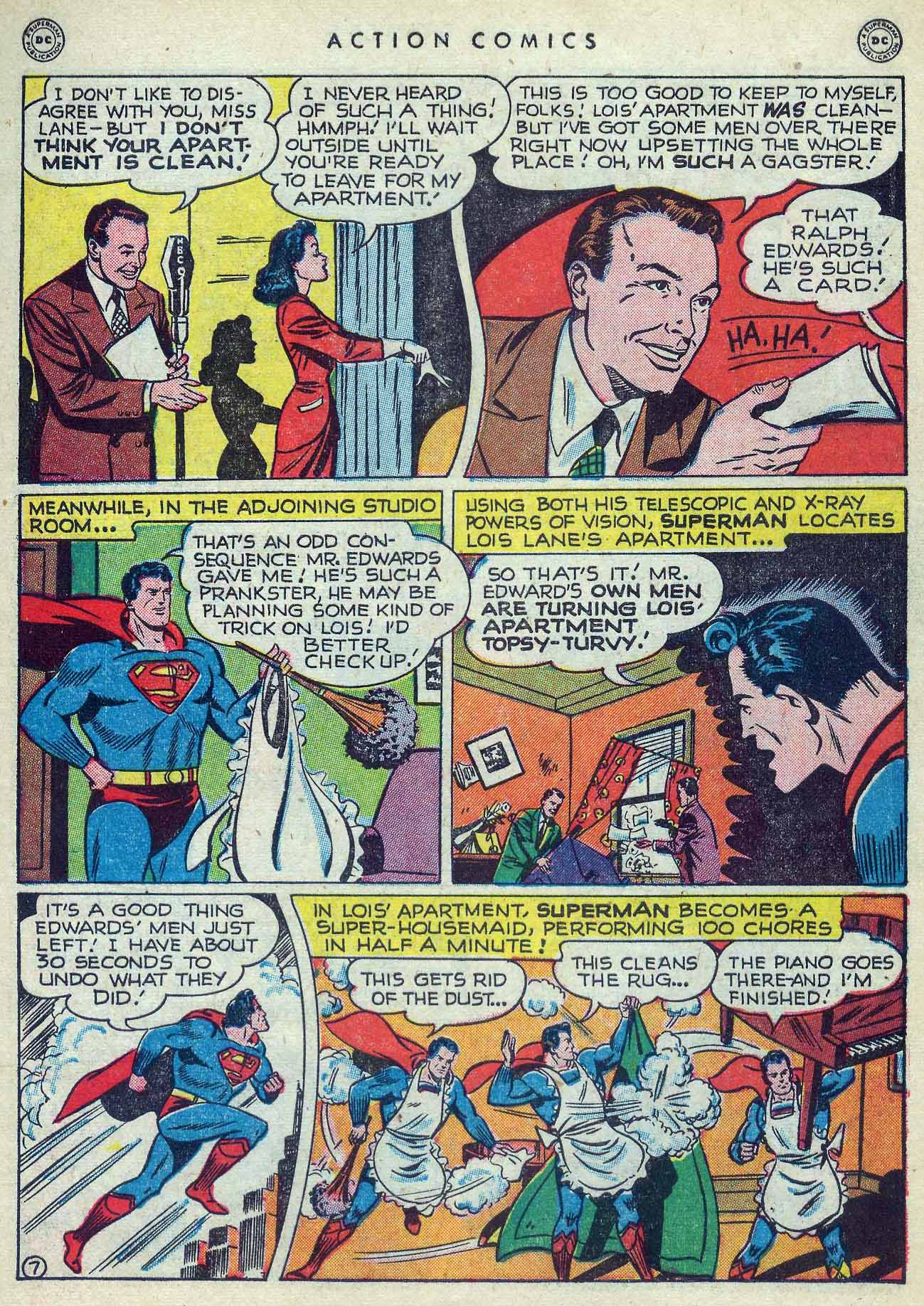 Read online Action Comics (1938) comic -  Issue #127 - 9