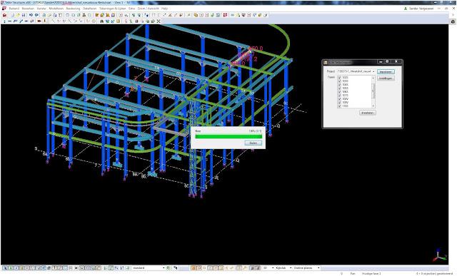 Импорт 3D модели из CAD Tekla в CAM BLM