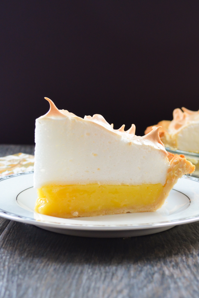 Top 10 Recipes of 2016 Lemon Meringue Pie on serenabakessimplyfromscratch.com