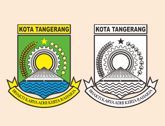 Banten Art Design Logo Pemerintah Kota Tangerang Format Cdr
