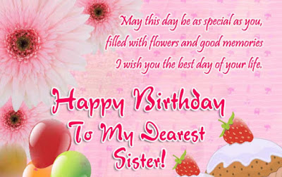 inspirational birthday message for sister