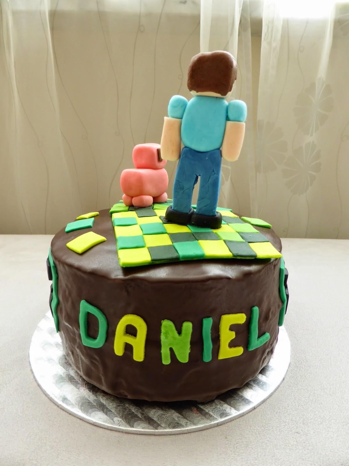 Minecraft Torte Fondant Kuchen Und Geback Beliebte Rezepte