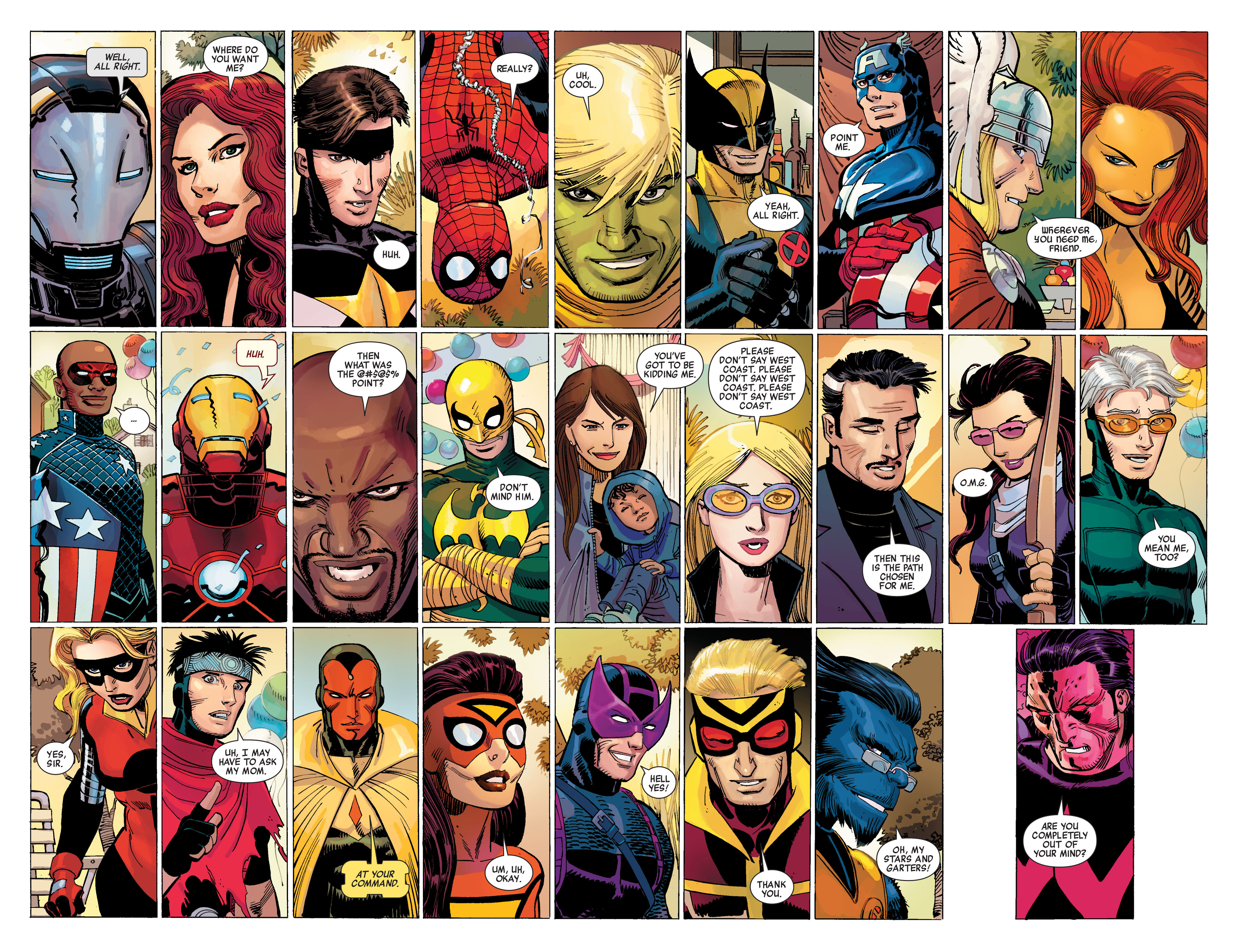 Read online Avengers (2010) comic -  Issue #1 - 5