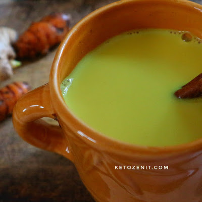 resep keto golden milk