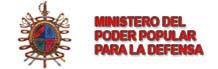 Resultado de imagen para MINISTERIO DE LA DEFENSa venezuela