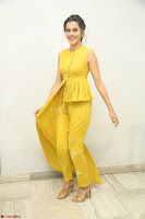 Taapsee Pannu looks mesmerizing in Yellow for her Telugu Movie Anando hma motion poster launch ~  Exclusive 078.JPG