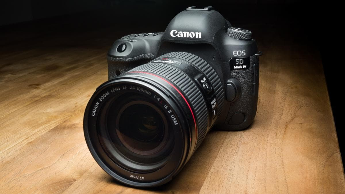 Canon DSLR Camera Firmware and Software Update