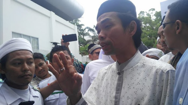Abdul Somad Ditolak Masuk Hong Kong
