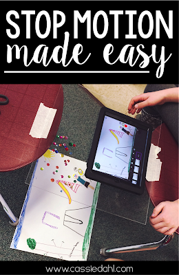 Stop-motion animations are so easy and fun to make! This post lays out exactly how to use a free app and gives actual photos and example animations for you to really get a feel for this fun video-making process!  Who knew learning could be so much fun!