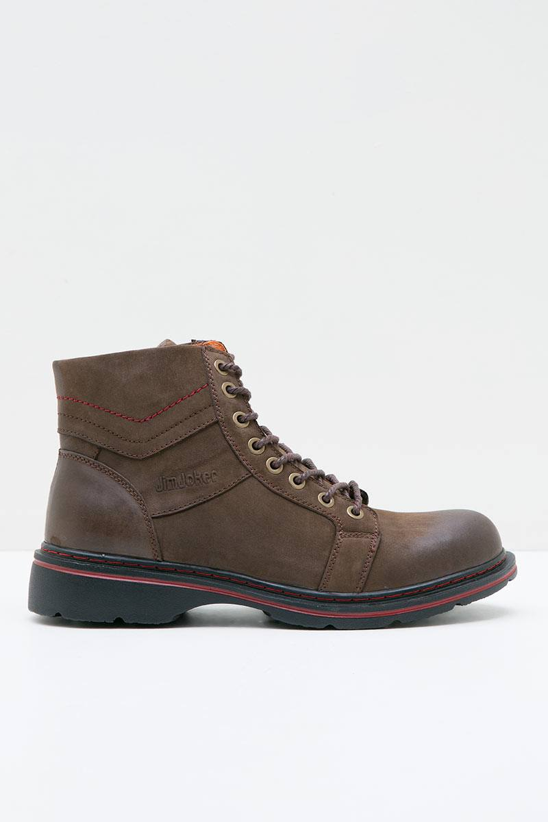 Men Peach1B Boot Coffee