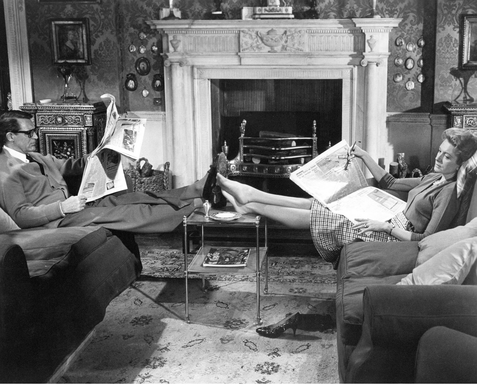 Image result for cary grant on sofa