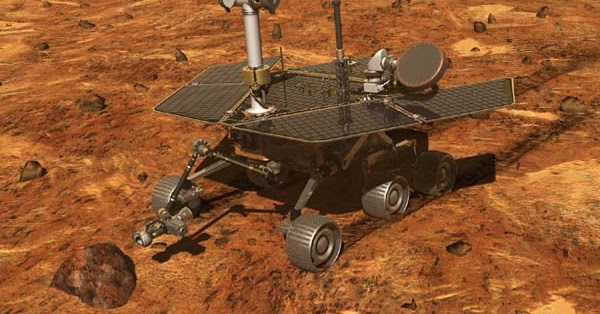 spirit rover model - photo #9