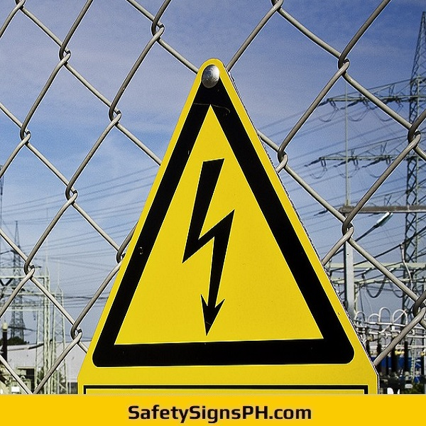 Electrical Arc Flash Sign Philippines