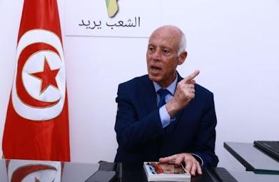 ثورة بمفهوم جديد, قيس سعيد, الرئاسة التوسية, تونس,