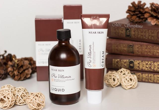 Missha Near Skin Pro Vitamin: Cream&Liquid