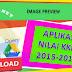 Aplikasi KKM Kurikulum 2013 Kelas 3 dan 6 Sekolah Dasar Berbasis Excel