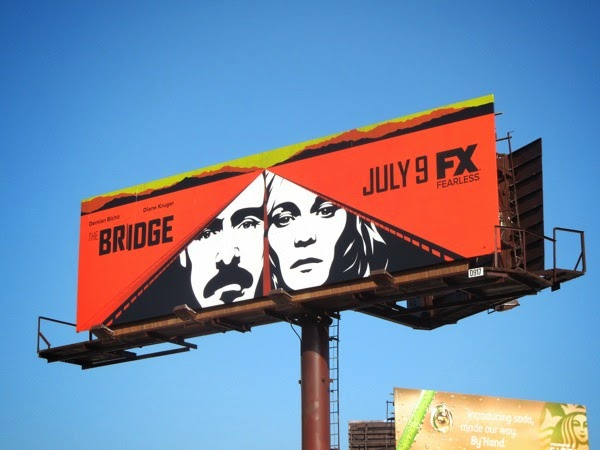 The Bridge season 2 billboard