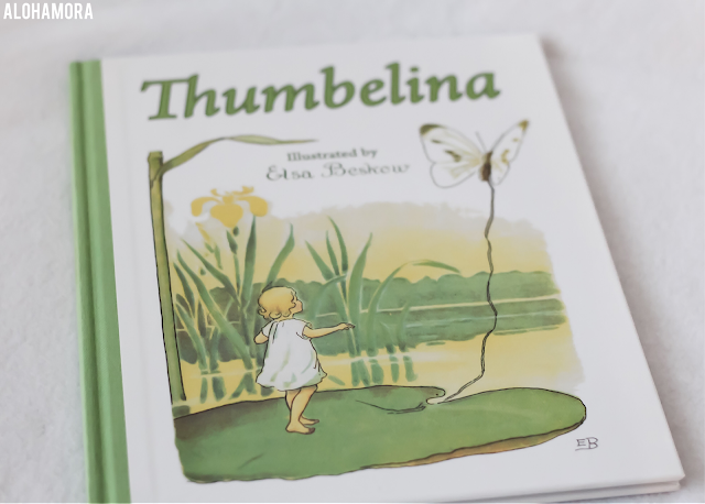 Thumbelina by Hans Christian Andersen and illustrated by Elsa Beskow gets 4 out of 5 stars in my book review of this classic fairytale.  Beautiful pictures from this Swedish illustrator. Alohamora Open a Book www.alohamoraopenabook.blogspot.com