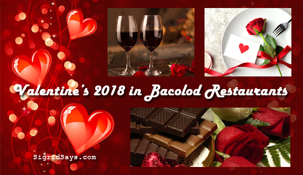 Valentine's Day in Bacolod restaurants
