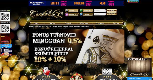 Bandar Poker Online Terpercaya (Server Pokerv)