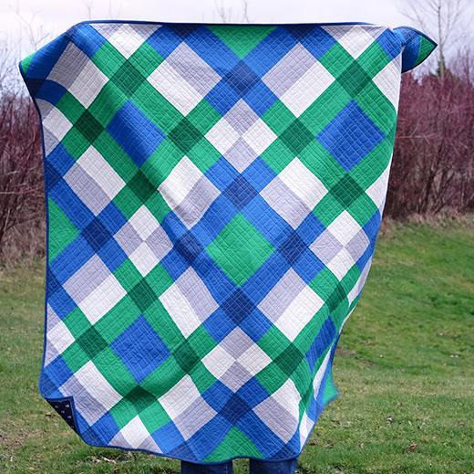 Giant Block Quilt Free Tutorial