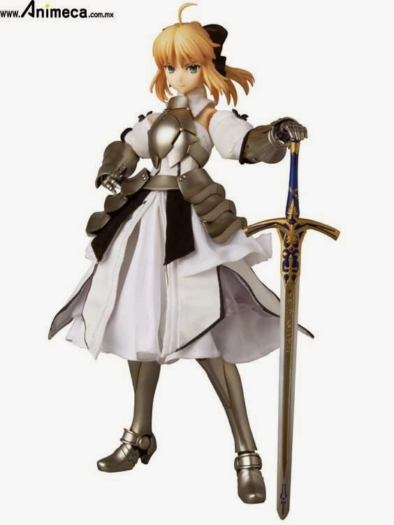FIGURA SABER LILY REAL ACTION HEROES Fate/stay night