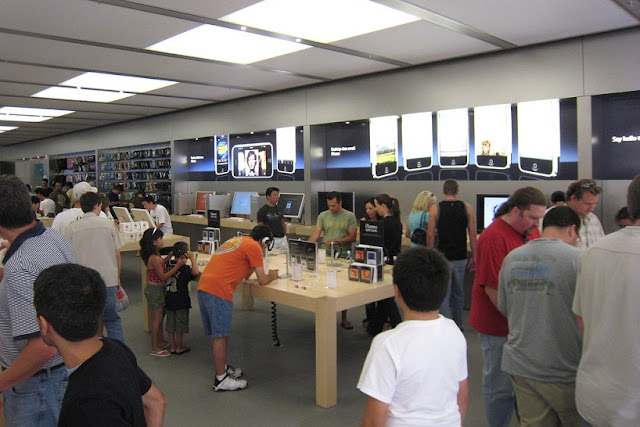 Loja da Apple no Fashion Valley Mall em San Diego