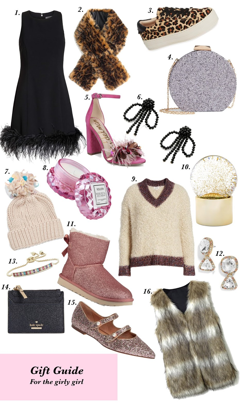 Gift Guide for the Girly Girl - Something Delightful Blog