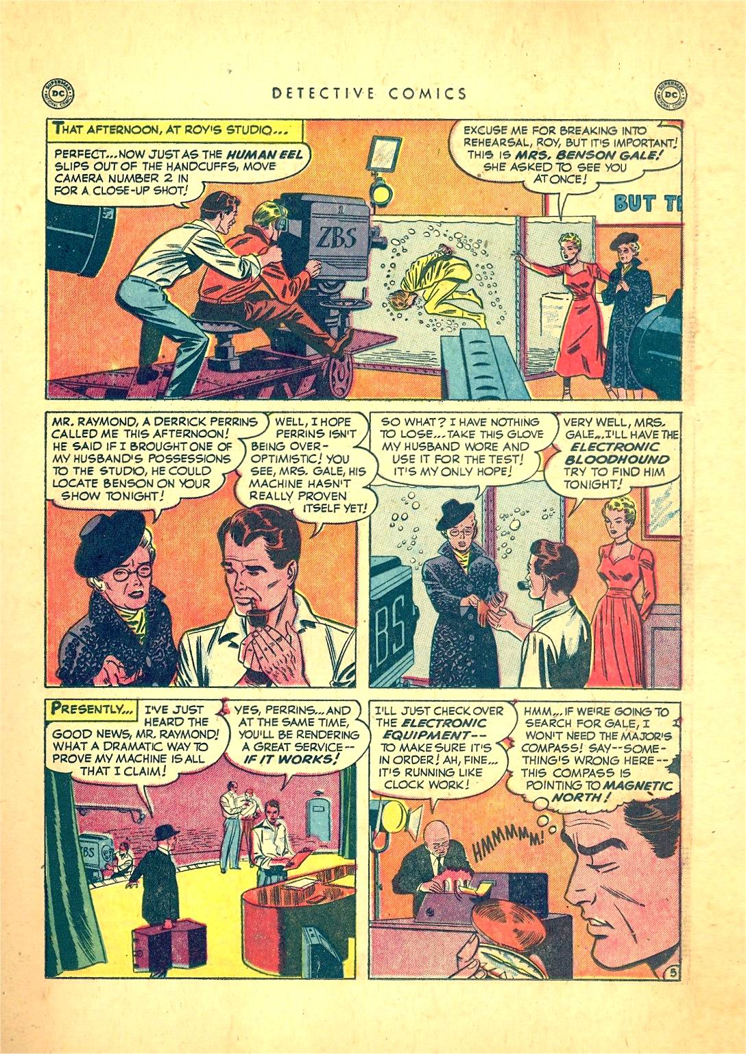 Read online Detective Comics (1937) comic -  Issue #166 - 21