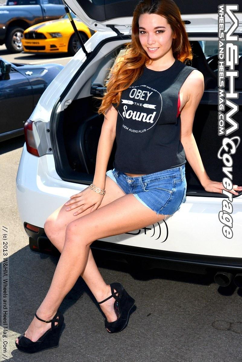 Oem Audio Plus >> W&HM / Wheels And Heels Magazine: Marissa Hiroko Totally Amazing at #Subiefest #Fontana CA ...