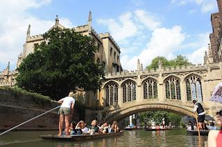 cambridge inglaterra turismo puente