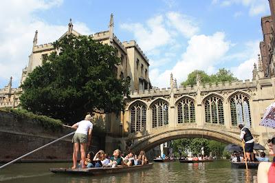 cambridge inglaterra turismo puente de los suspiros