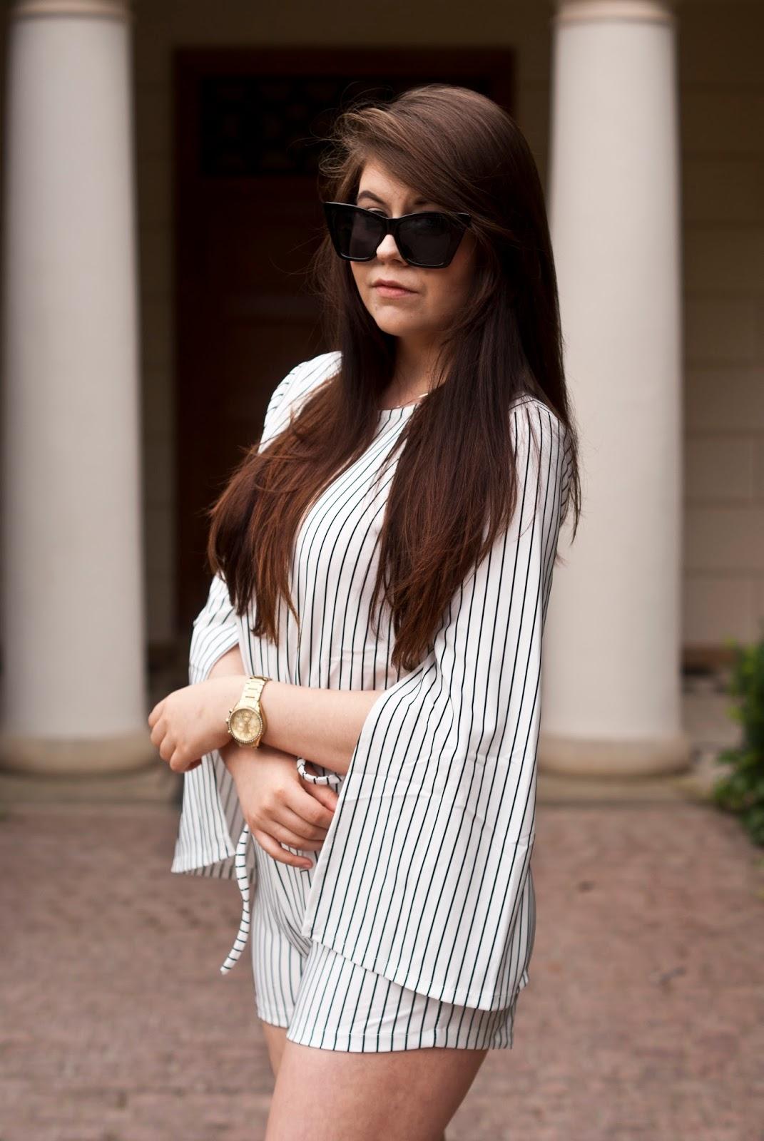 Kombinezon w paski / Jumpsuit Stripes fashion71.net