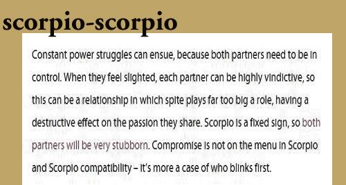 Scorpio man and woman together