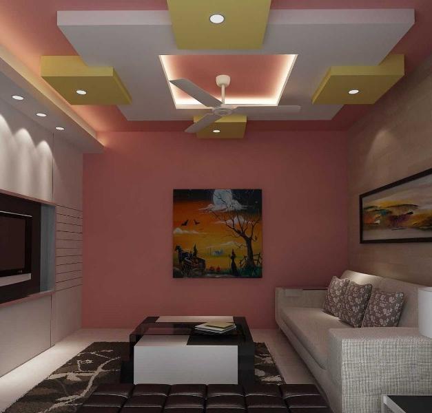 36 Desain Plafon Ruang Tamu Minimalis Ukuran 3x3 Modern