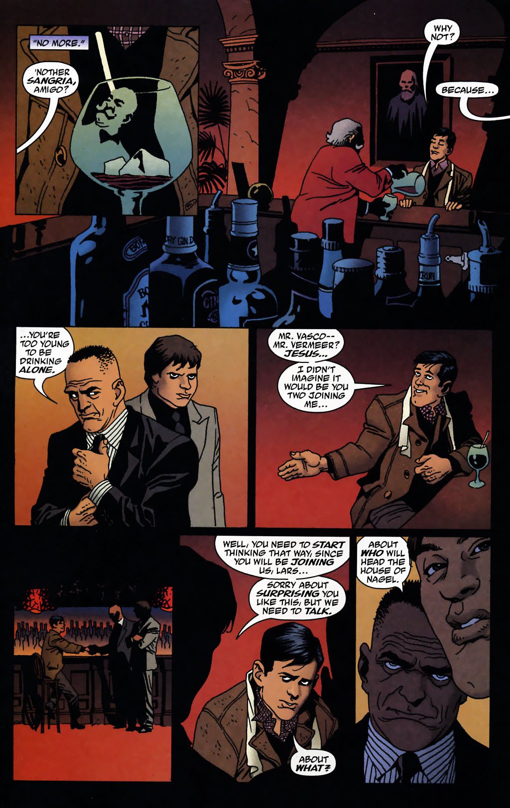 Read online 100 Bullets comic -  Issue #72 - 11