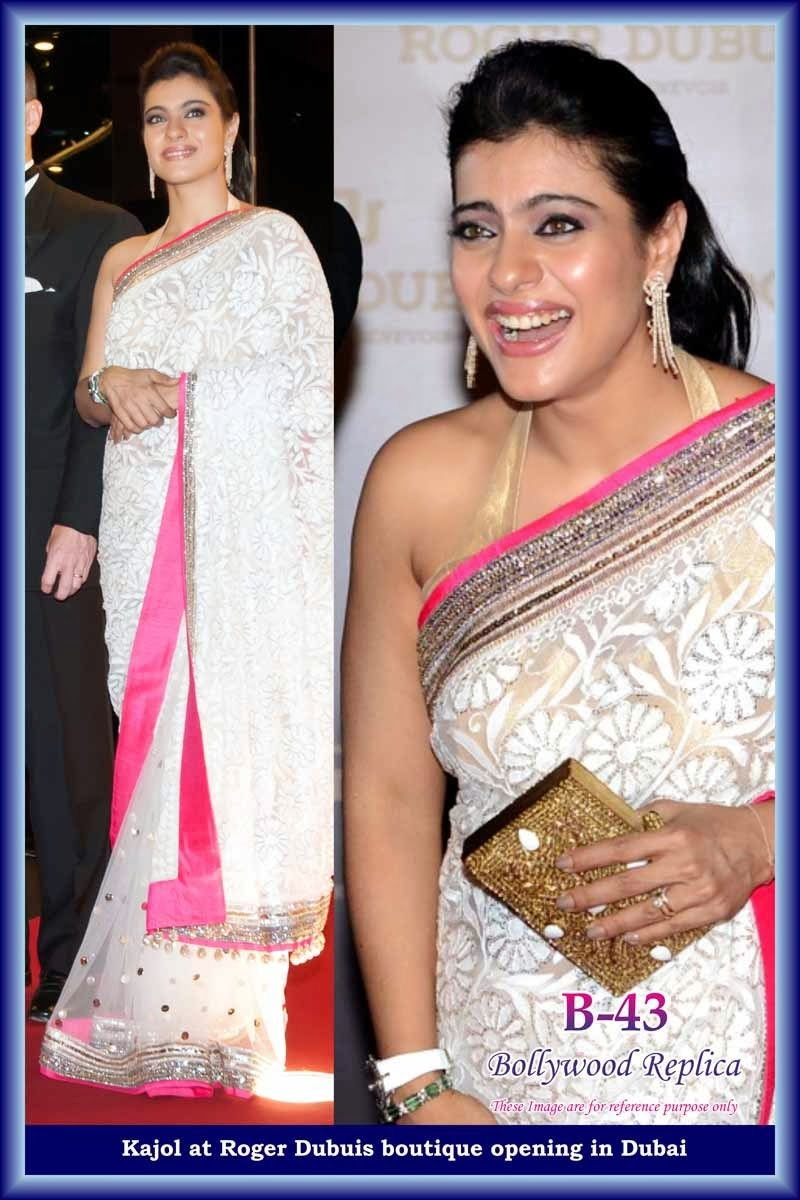 Impossible Kajol latest sarees in bollywood not tell