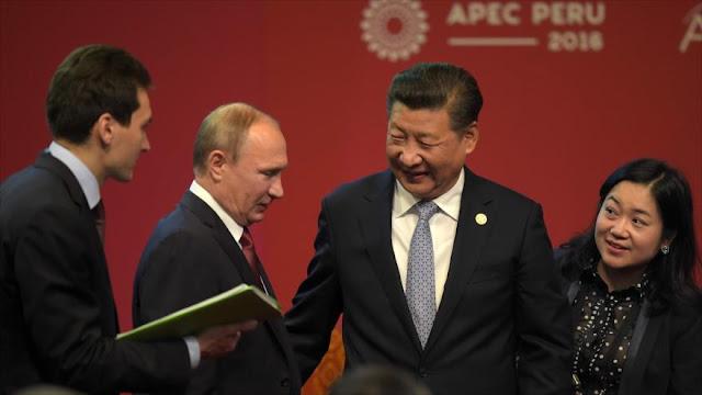 Rusia y China piden estrechar lazos en pro de la paz mundial