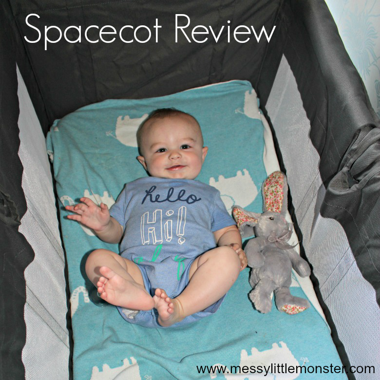 Spacecot review - Which is the best travel cot to choose? The spacecot is a light, easy to use travel cot suitable for newborn babies up to 3 years.