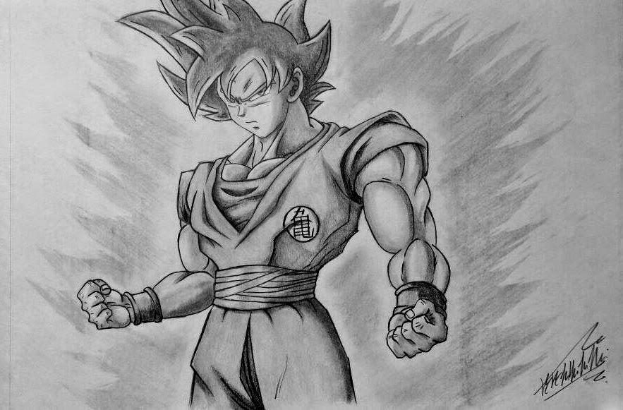 50 Imágenes De Goku Para Dibujar: Dibujando Anime